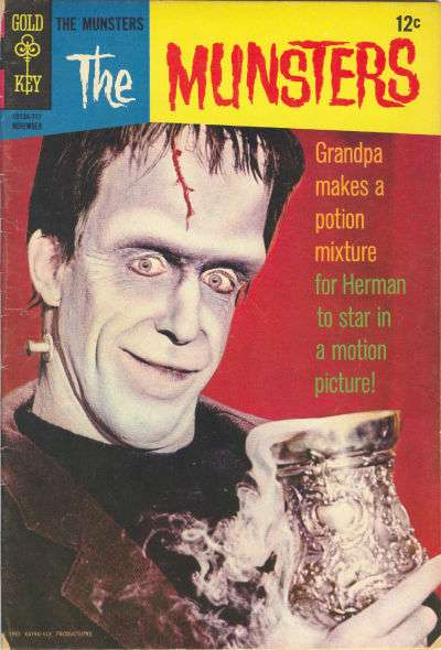 Munsters #15 Comic Books - Covers, Scans, Photos  in Munsters Comic Books - Covers, Scans, Gallery