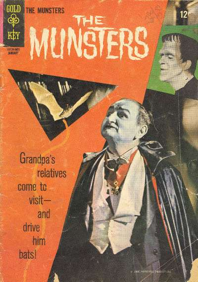 Munsters #5 Comic Books - Covers, Scans, Photos  in Munsters Comic Books - Covers, Scans, Gallery
