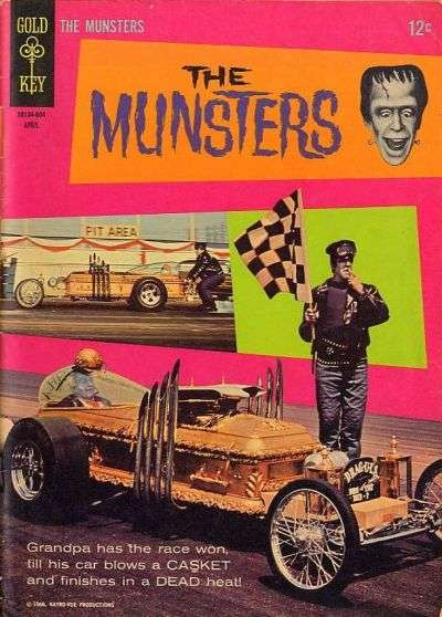 Munsters #6 Comic Books - Covers, Scans, Photos  in Munsters Comic Books - Covers, Scans, Gallery