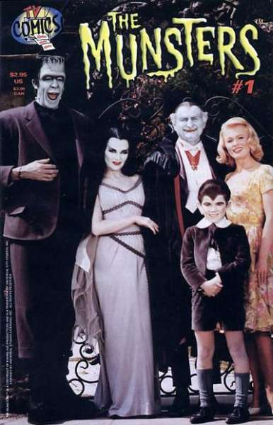 Munsters comic books