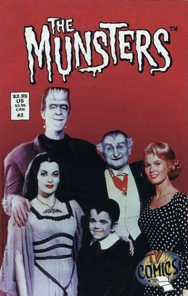 Munsters #2 comic books - cover scans photos Munsters #2 comic books - covers, picture gallery