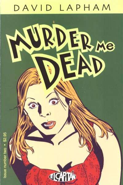 Murder Me Dead #2 comic books - cover scans photos Murder Me Dead #2 comic books - covers, picture gallery