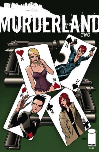 Murderland #2 comic books - cover scans photos Murderland #2 comic books - covers, picture gallery