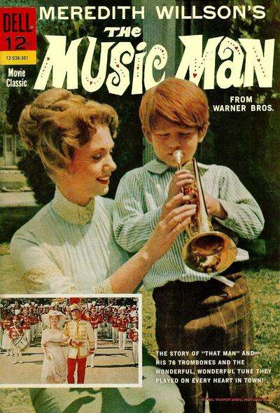 Music Man #1 comic books - cover scans photos Music Man #1 comic books - covers, picture gallery