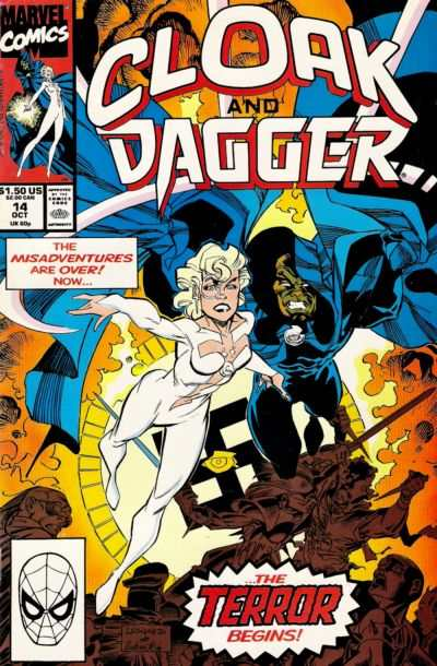 Mutant Misadventures of Cloak and Dagger #14 comic books - cover scans photos Mutant Misadventures of Cloak and Dagger #14 comic books - covers, picture gallery