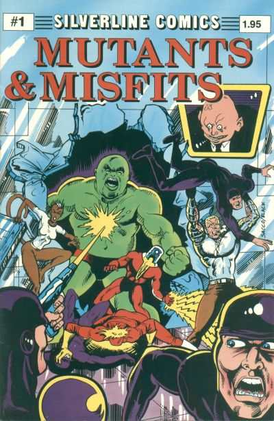 Mutants & Misfits #1 comic books - cover scans photos Mutants & Misfits #1 comic books - covers, picture gallery