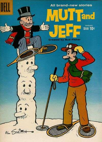 Mutt and Jeff #107 Comic Books - Covers, Scans, Photos  in Mutt and Jeff Comic Books - Covers, Scans, Gallery