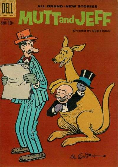 Mutt and Jeff #113 comic books - cover scans photos Mutt and Jeff #113 comic books - covers, picture gallery