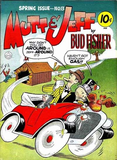 Mutt and Jeff #13 Comic Books - Covers, Scans, Photos  in Mutt and Jeff Comic Books - Covers, Scans, Gallery