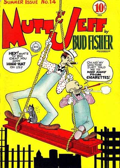 Mutt and Jeff #14 Comic Books - Covers, Scans, Photos  in Mutt and Jeff Comic Books - Covers, Scans, Gallery