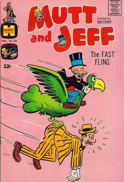 Mutt and Jeff #148 comic books - cover scans photos Mutt and Jeff #148 comic books - covers, picture gallery