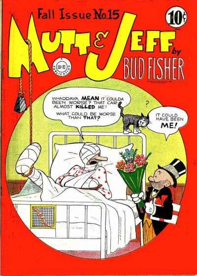Mutt and Jeff #15 Comic Books - Covers, Scans, Photos  in Mutt and Jeff Comic Books - Covers, Scans, Gallery