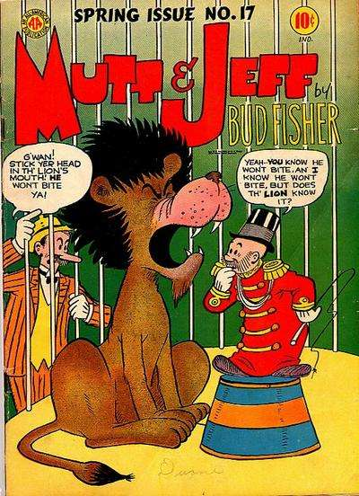 Mutt and Jeff #17 Comic Books - Covers, Scans, Photos  in Mutt and Jeff Comic Books - Covers, Scans, Gallery