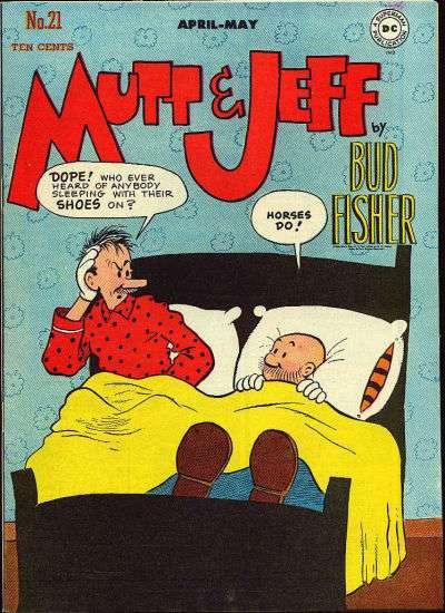 Mutt and Jeff #21 comic books - cover scans photos Mutt and Jeff #21 comic books - covers, picture gallery