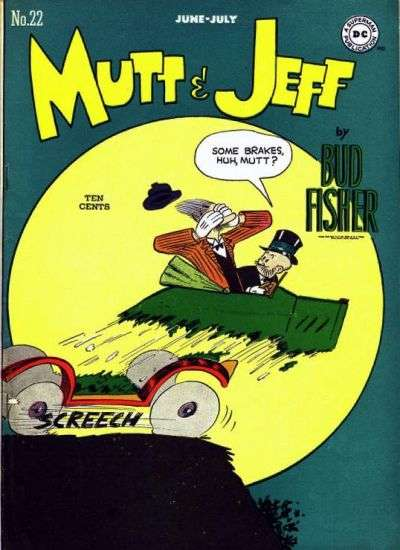 Mutt and Jeff #22 Comic Books - Covers, Scans, Photos  in Mutt and Jeff Comic Books - Covers, Scans, Gallery