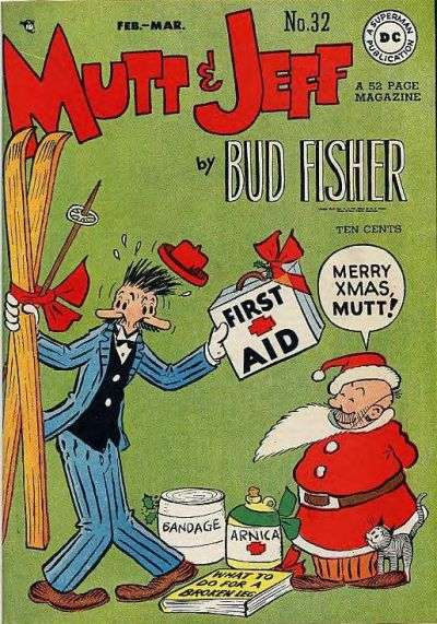 Mutt and Jeff #32 Comic Books - Covers, Scans, Photos  in Mutt and Jeff Comic Books - Covers, Scans, Gallery