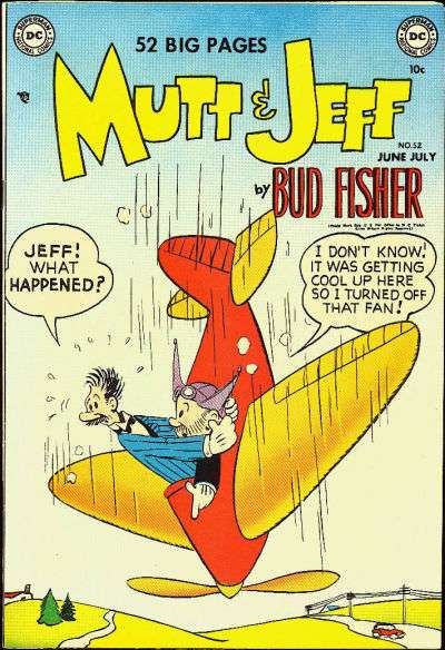 Mutt and Jeff #52 Comic Books - Covers, Scans, Photos  in Mutt and Jeff Comic Books - Covers, Scans, Gallery