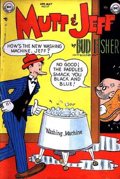 Mutt and Jeff #57 comic books - cover scans photos Mutt and Jeff #57 comic books - covers, picture gallery