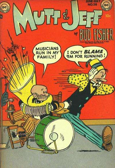 Mutt and Jeff #58 Comic Books - Covers, Scans, Photos  in Mutt and Jeff Comic Books - Covers, Scans, Gallery