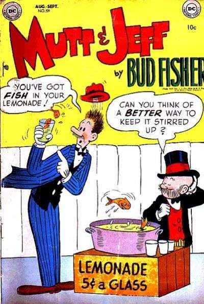 Mutt and Jeff #59 Comic Books - Covers, Scans, Photos  in Mutt and Jeff Comic Books - Covers, Scans, Gallery