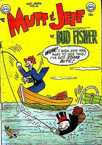 Mutt and Jeff #66 comic books - cover scans photos Mutt and Jeff #66 comic books - covers, picture gallery