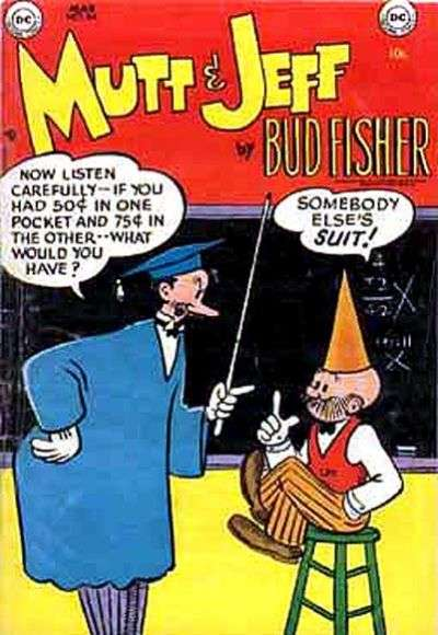 Mutt and Jeff #69 comic books - cover scans photos Mutt and Jeff #69 comic books - covers, picture gallery