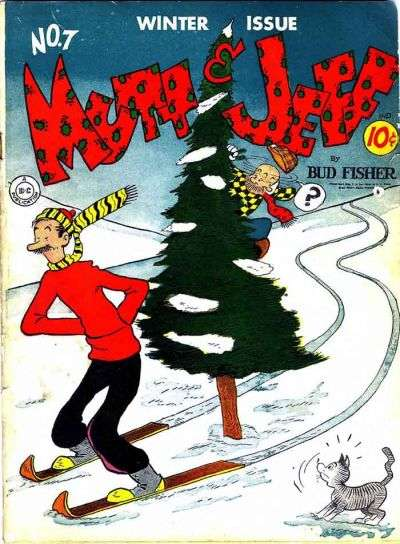 Mutt and Jeff #7 comic books for sale