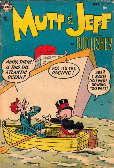 Mutt and Jeff #73 Comic Books - Covers, Scans, Photos  in Mutt and Jeff Comic Books - Covers, Scans, Gallery
