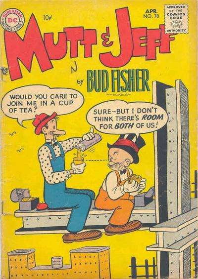 Mutt and Jeff #78 Comic Books - Covers, Scans, Photos  in Mutt and Jeff Comic Books - Covers, Scans, Gallery