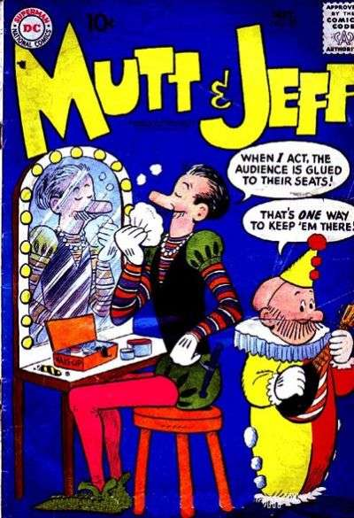 Mutt and Jeff #97 comic books - cover scans photos Mutt and Jeff #97 comic books - covers, picture gallery