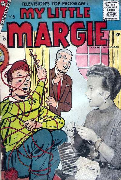 My Little Margie #15 Comic Books - Covers, Scans, Photos  in My Little Margie Comic Books - Covers, Scans, Gallery