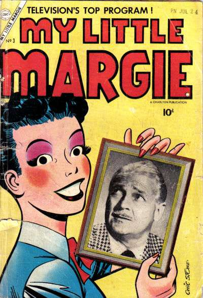 My Little Margie #3 Comic Books - Covers, Scans, Photos  in My Little Margie Comic Books - Covers, Scans, Gallery
