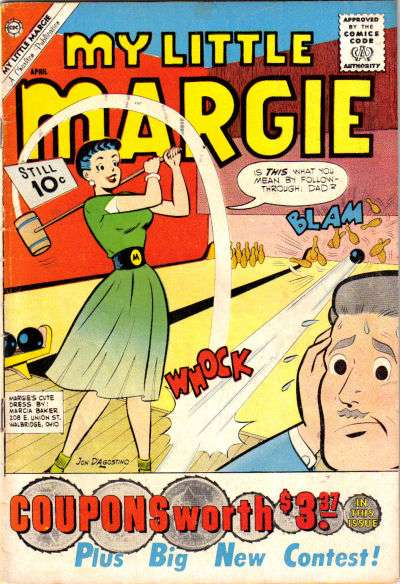 My Little Margie #35 comic books - cover scans photos My Little Margie #35 comic books - covers, picture gallery