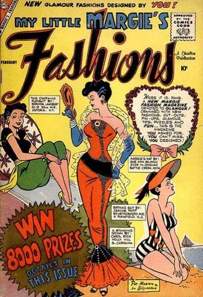 My Little Margie's Fashions comic books