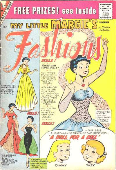 My Little Margie's Fashions #5 comic books - cover scans photos My Little Margie's Fashions #5 comic books - covers, picture gallery