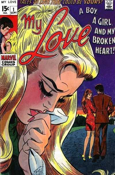 My Love Comic Books. My Love Comics.