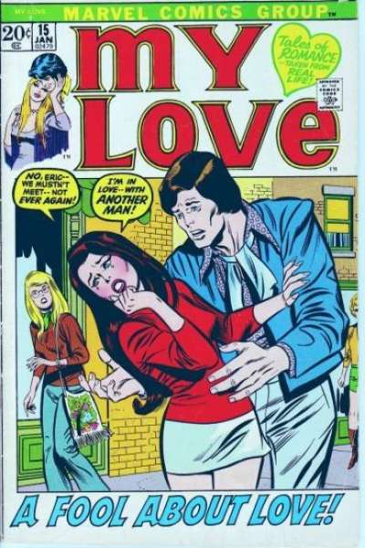 My Love #15 comic books for sale