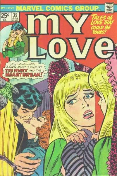 My Love #35 comic books for sale