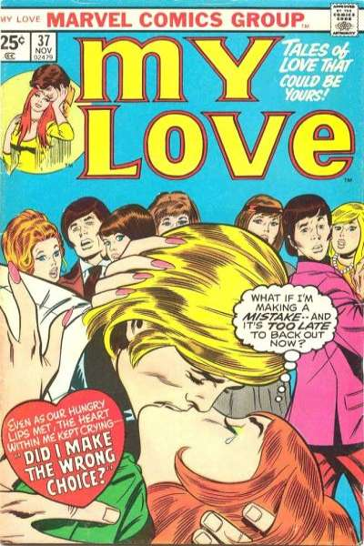 My Love #37 comic books for sale