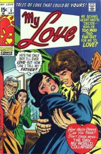 My Love #5 comic books - cover scans photos My Love #5 comic books - covers, picture gallery