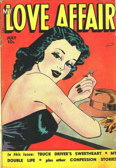 My Love Affair Comic Books. My Love Affair Comics.