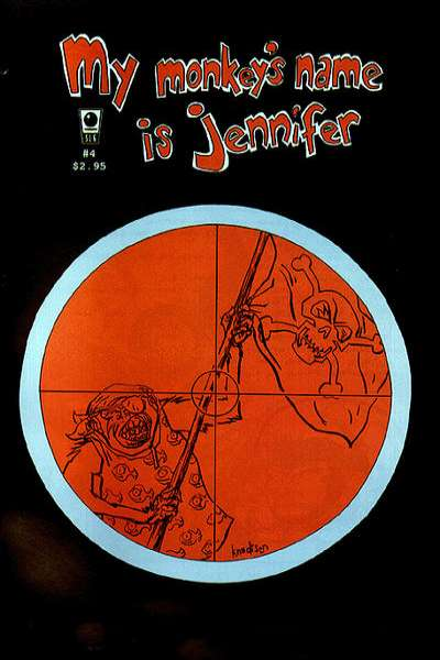 My Monkey's Name is Jennifer #4 comic books for sale