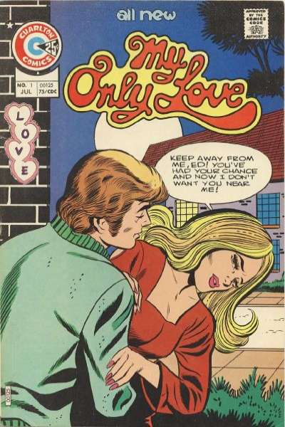 My Only Love #1 comic books - cover scans photos My Only Love #1 comic books - covers, picture gallery