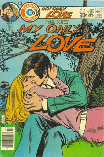 My Only Love #8 comic books - cover scans photos My Only Love #8 comic books - covers, picture gallery