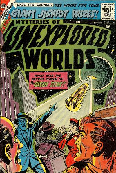 Mysteries of Unexplored Worlds #13 Comic Books - Covers, Scans, Photos  in Mysteries of Unexplored Worlds Comic Books - Covers, Scans, Gallery