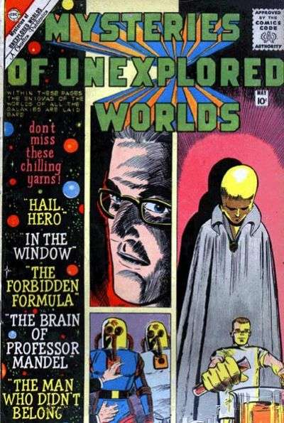 Mysteries of Unexplored Worlds #18 Comic Books - Covers, Scans, Photos  in Mysteries of Unexplored Worlds Comic Books - Covers, Scans, Gallery