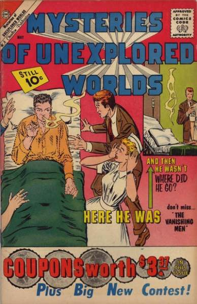 Mysteries of Unexplored Worlds #24 Comic Books - Covers, Scans, Photos  in Mysteries of Unexplored Worlds Comic Books - Covers, Scans, Gallery
