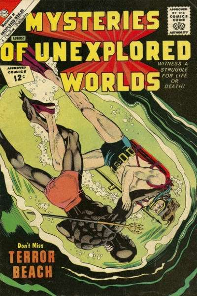 Mysteries of Unexplored Worlds #31 Comic Books - Covers, Scans, Photos  in Mysteries of Unexplored Worlds Comic Books - Covers, Scans, Gallery