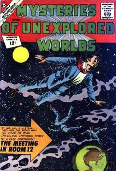 Mysteries of Unexplored Worlds #32 comic books - cover scans photos Mysteries of Unexplored Worlds #32 comic books - covers, picture gallery