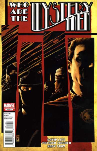 Mystery Men comic books